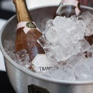 Villiera Tradition Rose Brut in ice bucket