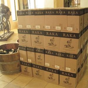 Raka tasting room