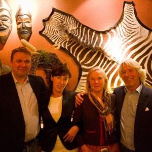 Matthias Potzkai (H M Witt), Monika Schodlok (Farmerhaus), Cathy Brewer (Villiera), Alex Schodlok (Farmerhaus)