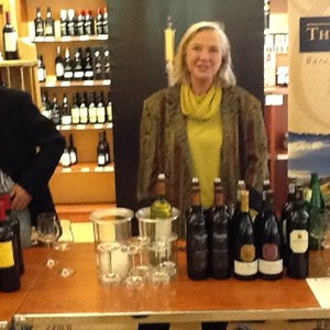Cathy Brewer of Villiera at Weinhaus Beisler
