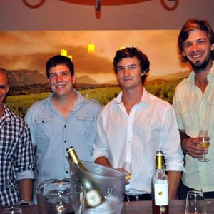 Nathan, Jacques, Sam and Guillaume