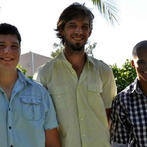 the waiters - Jacques, Guillaume & Nathan