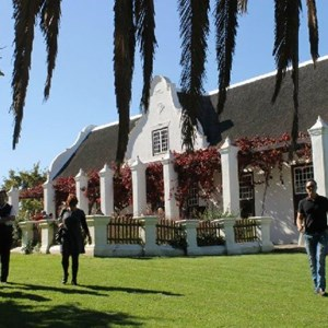 Meerlust Red Lunch - Manor House guests
