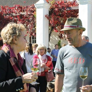 Meerlust Red Lunch - Christine Rudman & Hannel Myburgh
