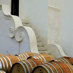 Meerlust Estate - Barrels and Cellar