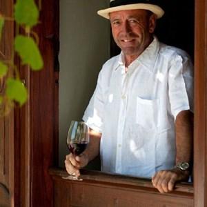 Hannes Myburgh, owner of Meerlust Estate