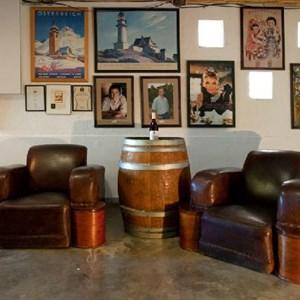 Tasting Room at Meerlust Estate