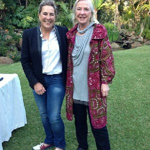Jeanette Bruwer (Springfield) and Cathy Brewer (Villiera) at Amanzi