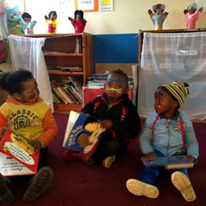 Mandela Day - Reading corner