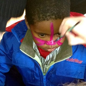 Mandela Day - face painting