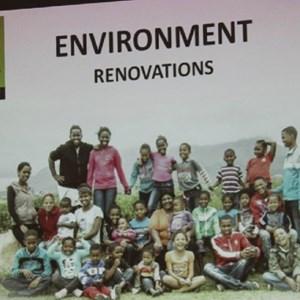 Pebbles AGM 2013 at Warwick - Environment Renovations