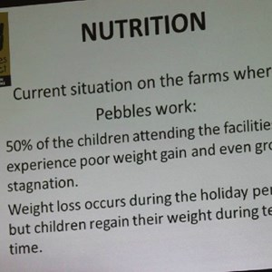 Pebbles AGM 2013 at Warwick - Nutrition program-001