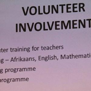 Pebbles AGM 2013 at Warwick - Volunteer involvement