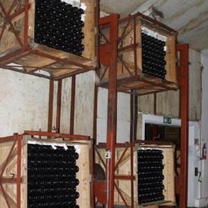 Villiera - wine.co.za visit Sept 2013 - bubblies in the giropallettes