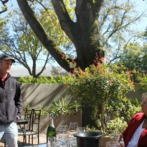Villiera - wine.co.za visit Sept 2013 - Simon Grier & Judy Brower