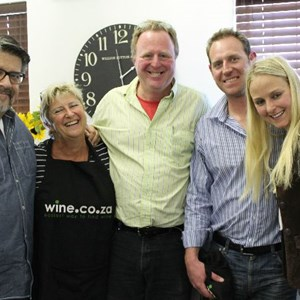 Pieter du Toit with Alex and Tammy from Cederberg