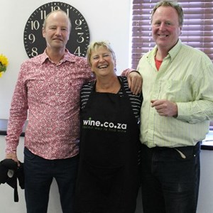 Villiera's Simon with Judy and Kevin