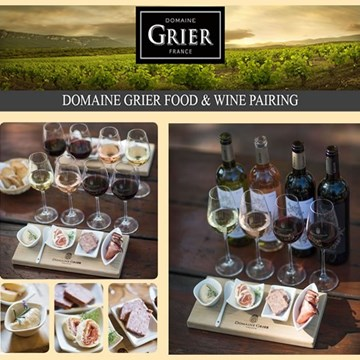 Domaine Grier Food & Wine Pairing