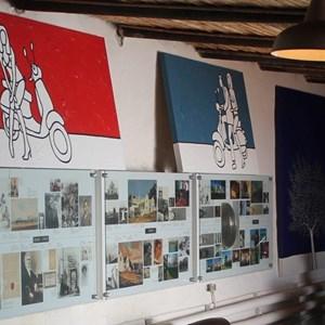 IMG_4749 -  Meerlust tasting room - Richard Scott artwork on display.jpg