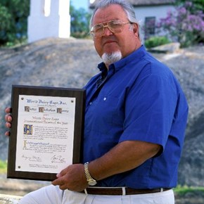 Peter Pent Dairy Achievement