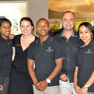 Villiera Staff who helped out at St Vincents