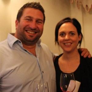 Platter 2015 launch - Danie Steytler & wife (Kaapzicht).jpg