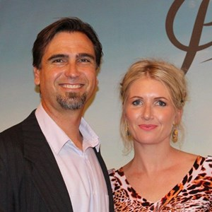 Platter 2015 launch - JP Rossouw & Ariane Beaumont.jpg