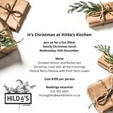 Groote Post Festive Lunch: Hilda's Kitchen