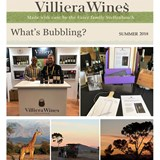 Villiera Wines - Whats Bubbling: Summer 2018