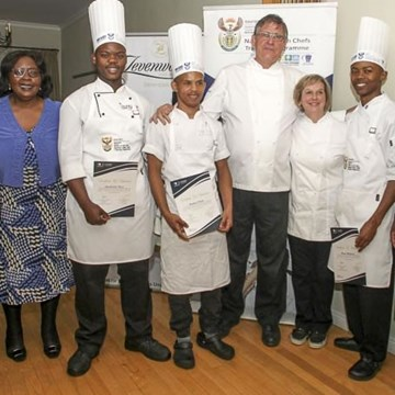 Le Calabash awards chef experience in the Loire valley to three outstanding chef interns