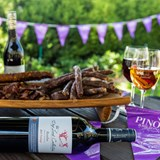 Pinotage and Biltong Festival a sea of purple and white