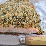 Zevenwacht The Tin Mine White Blend 2017 paired to Sophia Lindop's Fennel & Sumac Crusted Salmon Trout