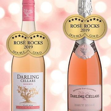 Double Gold for Darling Cellars at the Rosé Rocks competition