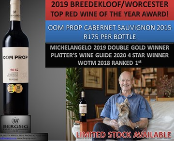 Brenn-O-Kem Worcester/Breedekloof Winemaker of the Year 2019 announced- South Africa