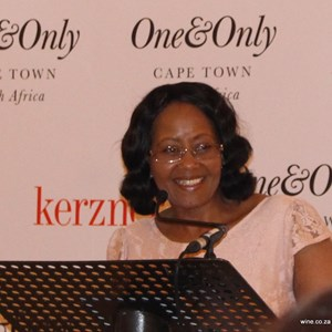 Reaching for Young Stars 2015 - Tokozile Xasa (Dep Min Tourism).JPG