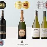 Top 100 SA Wine podium slots for the flagship Villiera Monro Brut and Villiera Monro Merlot