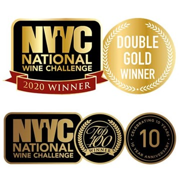 National Wine Challenge Double Gold Awards 2020