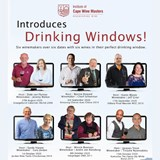 Institute of Cape Wine Masters Introduces Drinking Windows
