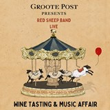Groote Post Presents Red Sheep Band Live - A wine tasting and music affair not to be missed