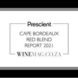 Prescient Cape Bordeaux Red Blend Report 2021 is now live!