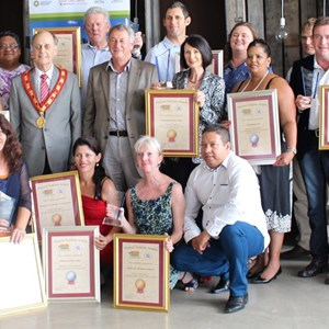 Cape Winelands Mayoral Tourism Award winners.JPG