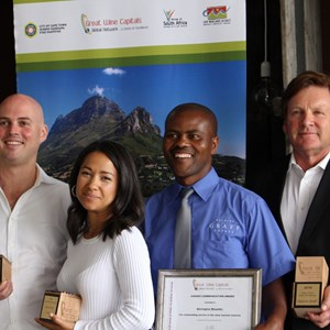 Great Wine Capitals Awards - Delaire Graff Team.JPG