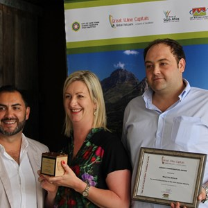 Great Wine Capitals Awards - Creation Team (Dieter, Carolyn & Kyle).JPG