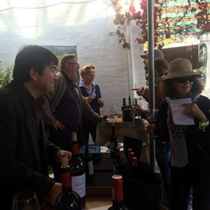 Cab Franc Carnival 2016 - Dudley Wilson