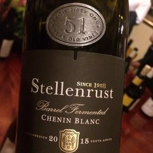 Stellenrust 51 Barrel Fermented Chenin