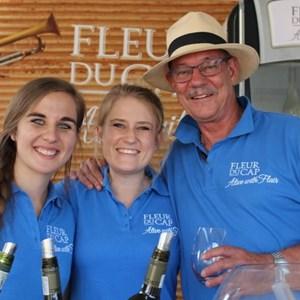 2017 Stellenbosch Wine Fest - Colin Bridger & Fleur du Cap