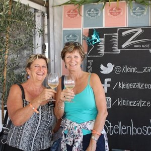 2017 Stellenbosch Wine Fest - Judy & Glynis