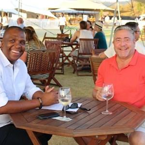 2017 Stellenbosch Wine Fest - Matome Mbatha & Ross Sleet