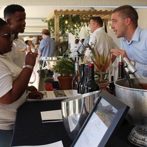 2017 Stellenbosch Wine Fest - PYDA students at Remhoogte-001