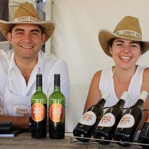 2017 Stellenbosch Wine Fest - siblings Ernst & Ezanne Gouws